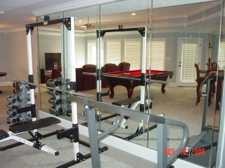basement-workout-area