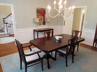 20170712_151808 New Dining Room Paint & Lighting