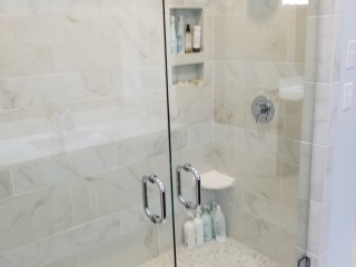 20170712_152909 Other side of His and Hers Master Shower with Duel Shower Heads