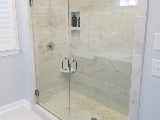 20170712_153430 New Custom His and Hers Master Shower with Duel Shower Heads
